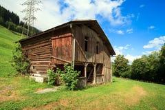 Swiss Mountain Barn Stock Images