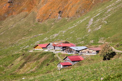 Swiss Mountain Hostels Royalty Free Stock Photo
