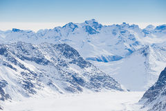 Swiss mountain, Jungfrau, Switzerland, ski resort Royalty Free Stock Photos