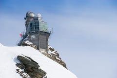 Swiss mountain, Jungfrau, Switzerland, ski resort Stock Photo