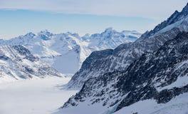 Swiss mountain, Jungfrau, Switzerland, ski resort Stock Image