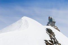 Swiss mountain, Jungfrau, Switzerland, ski resort Royalty Free Stock Photo