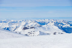 Swiss mountain, Jungfrau, Switzerland, ski resort Stock Photography