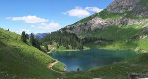 Swiss mountain landscape Stock Photo