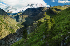Swiss mountain landscape Royalty Free Stock Photography