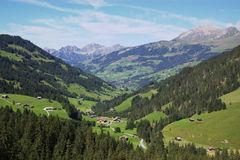 Swiss mountain landscape Royalty Free Stock Image