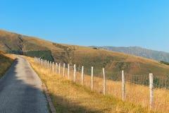 Swiss mountain landscape stock image
