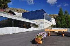 Swiss mountain resort Bettmeralp, Switzerland. Royalty Free Stock Image