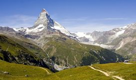 Swiss mountains Stock Image