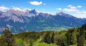 Swiss mountains royalty free stock images