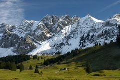 Free Swiss Mountains In Summer Stock Photography - 151501422