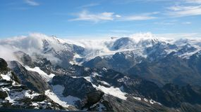 Swiss mountains Royalty Free Stock Photos