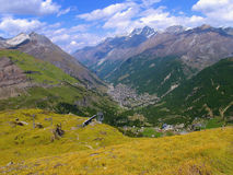 The Swiss mountains Royalty Free Stock Image
