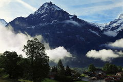 Swiss mountains Royalty Free Stock Image