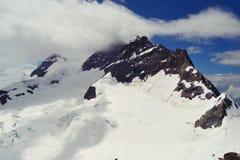 Swiss mountains view Stock Photo