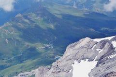 Swiss mountains view Royalty Free Stock Photo