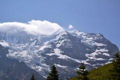 Swiss mountains view Stock Photos