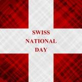 The Swiss National Day, Schweizer Bundesfeier Stock Photography