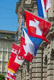 Swiss National Day in Zurich Royalty Free Stock Images