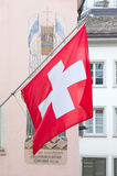 Swiss National Day in Zurich Stock Images