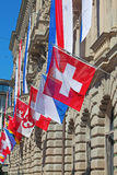 Swiss National Day in Zurich Royalty Free Stock Photo