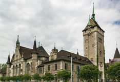 Swiss National Museum, Zurich stock images