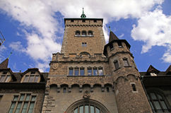 Swiss National museum in Zurich, Switzerland Royalty Free Stock Photo