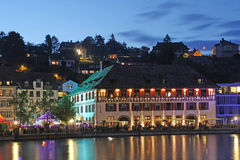 Swiss old town Schaffhausen Royalty Free Stock Photo