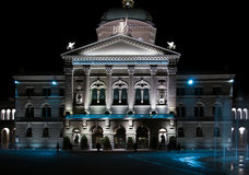 Swiss Parlament Stock Photography