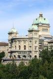 Swiss parliament stock image