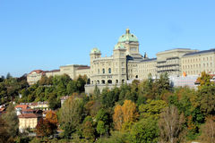 Swiss Parliament in Bern. Historical part of Bern, Switzerland stock images