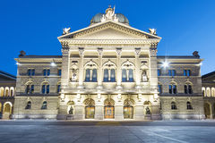 Swiss Parliament building Stock Photos