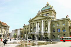 Swiss Parliament building in Bern, Switzerland Stock Photography