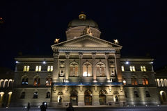 Swiss Parliment in Bern Stock Photos