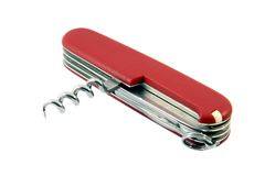 Swiss pocket knife Stock Image
