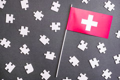 Swiss puzzle Royalty Free Stock Photos