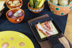 Swiss raclette Royalty Free Stock Image