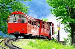 Swiss railways. Stock Images