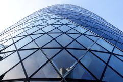 Swiss Re Tower, Gherkin, London Royalty Free Stock Images