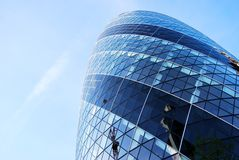 Swiss Re Tower, Gherkin, London stock images