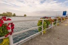 Swiss riviera Royalty Free Stock Image