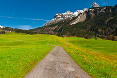 Swiss Road Royalty Free Stock Images