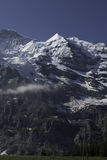 Swiss Rocky Alps in the Summer Royalty Free Stock Photography