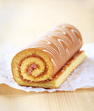 Swiss roll stock photography