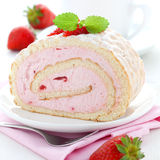 Swiss roll Stock Photos