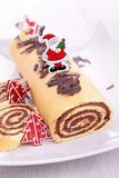 Swiss roll Royalty Free Stock Image
