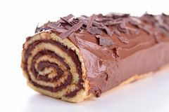Swiss roll Royalty Free Stock Photography