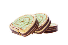 Swiss roll cake Stock Photography