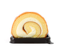 Swiss roll cake Royalty Free Stock Photos