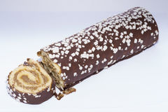 Swiss roll. Stock Photos